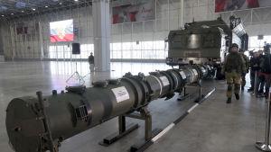 USA anklagade Ryssland för att bryta mot INF-avtalet då det utvecklade den landbaserade kryssningsmissilen 9M729