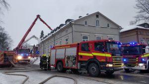 Husbrand i Nystad