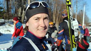 Porträttbild på Maria Degerlund.