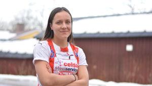 Porträttbild på Nicolina Fredriksson.