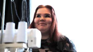 Ella Kähkönen som lider av diabetes typ 1.