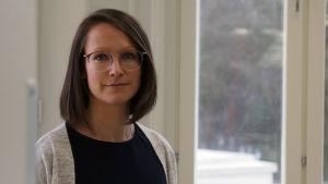 Josefin Holmkvist är rektor för Valteris svenskspråkiga enhet Skilla