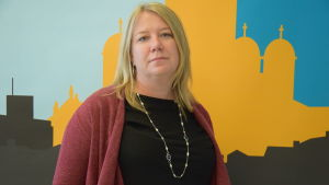 Caroline Haga, internationella rödakorskommittén
