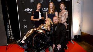 Bland andra regissörerna Vuokko och Virva Kunttu samt Jasmin Britney var med på Jussi-galan i Helsingfors den 22 mars 2019 där filmen  Star shaped scar prisbelönades.