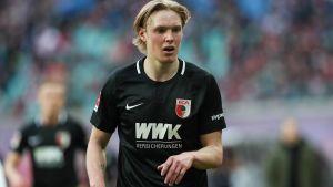 Fredrik Jensen från Borgå spelar i tyska FC Augsburg.