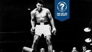 Muhammad Ali efter en knockout.