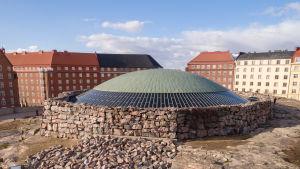 Temppeliaukion kirkko Helsingin Etu-Töölössä