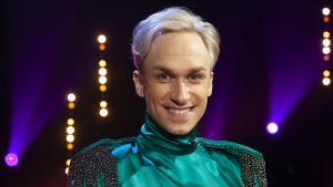 Christoffer Strandberg medverkar i premiäravsnittet av De Eurovisa 2019.