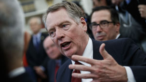USA:s handelsrepresentant Robert Lighthizer anklagar EU för att skada amerikanska flygplansindustri med sina subventioner till Airbus