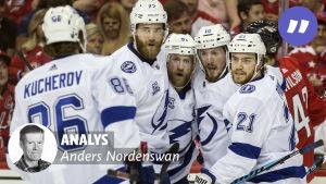 Tampa Bay Lightning med Anders Nordenswans analysvinjett.