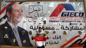 President Abdel Fattah al-Sisi kan sitta kvar på sin post åtminstone fram till år 2030