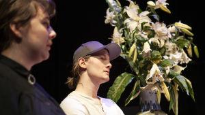Foto från En blick är en blick är en blick på Lilla Teatern.
