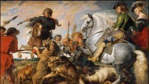 Peter Paul Rubens: Varg- och rävjakten (1616)