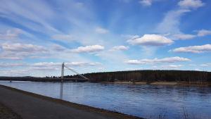 Bild av Ounasjoki i Rovaniemi
