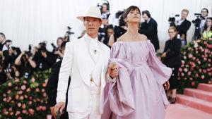 Benedict Cumberbatch och Sophie Hunter.