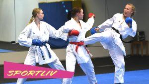 Karatekan Titta Keinänen i Sportliv.