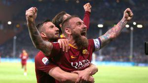 Daniele de Rossi är klubbikon i AS Roma.