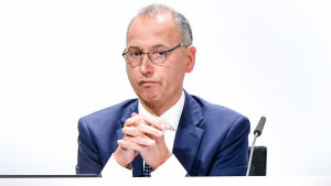 Werner Baumann, vd för Bayer.