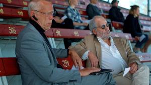 Ulf Johansson och Sune Nygård i filmen Blinkers.