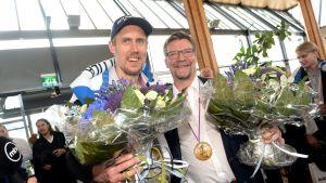 Marko Anttila och Jukka Jalonen.