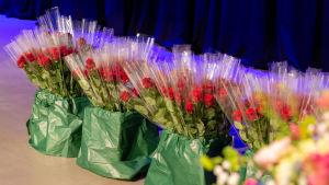 Blommor för studerande.