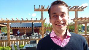 Henrik Wickström är nöjd över sitt valresultat i två val våren 2019.