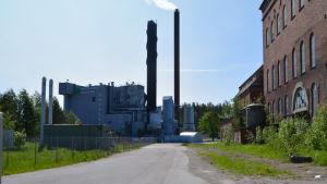 Ett värmekraftverk i Tolkis