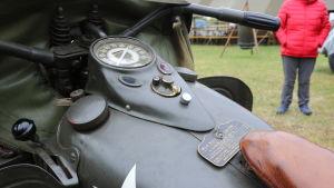 en krigstida motorcykel