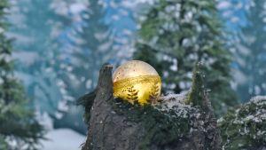 julkulan från Jul i hittehatt