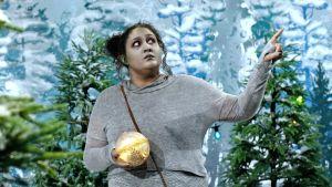 En älva från serien Jul i Hittehatt