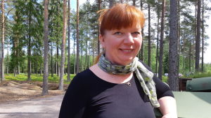 Martina Lindberg.