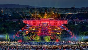Kuva Wienin kesäkonsertista.