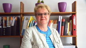 Porträtt av Arja Tuomaala.