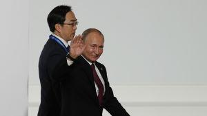 Rysslands president Vladimir Putin tycker inte om liberala värden som han anser är i konflikt med en majoritet av världens befolkning