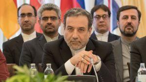 Irans vice utrikesminister Abbas Araghchi under ett möte i Wien den 7.juli 2019.