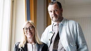 Sophia Jansson och Roleff Kråkström.