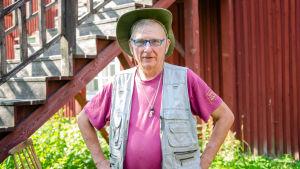 Jouni Stordell är pensionerad miljöinspektör vid Raseborgs stad.