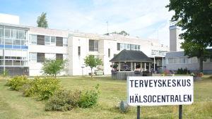 Hangö hälsocentral.