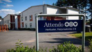 Vårdhemmet Herttuatar som drivs av Attendo.