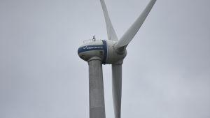 navet av ett vindkraftverk