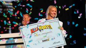 Annimari Korte sai Villin kortin työryhmältä puolen vuoden apurahan.