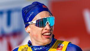 Iivo Niskanen tog medalj på 15 kilometer klassiskt.