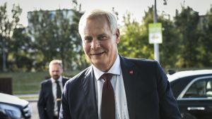 Statsminister Antti Rinne.