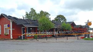Cafébyggnaden.