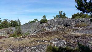 Granitklippor i den åboländska skärgården.