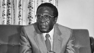 Robert Mugabe 1985.