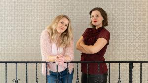 Hannah Norrena och Eva Frantz