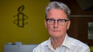Amnestys verksamhetsledare Frank Johansson.