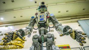 Den ryska humanoida roboten Fedor, eller Skybot F-850