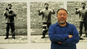 Taiteilija Ai Weiwei on arvostellut rohkeasti Kiinan autoritaarista hallintoa. Nyt mies on maanpaossa ja ihmisoikeustaistelun symboli.